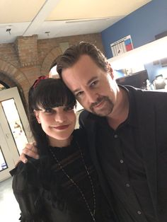 Pauley Perrette finished shooting her last scene of NCIS with Sean Murray