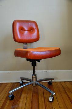 Vintage Hon Office Chair Via Etsy