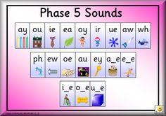 phonics phase 5 sounds