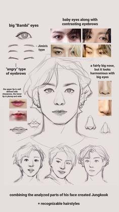 Bts Drawings, Art Drawings Sketches, Art Reference Poses, Drawing Reference, Drawing Techniques, Drawing Tips, Boy Sketch, Bts Face, Portrait Sketches