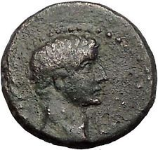 TIBERIUS 14AD Colonists Founding PARIUM with OXEN Ancient Roman Coin i55919