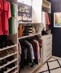 Give Every Purse a Place | With these strategies up your sleeve, your bedroom closet will feel surprisingly spacious.