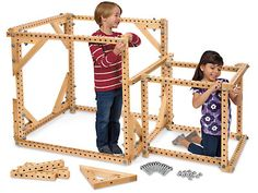 Our jumbo big builders construction set invites kids to think big…and build even bigger! Woodworking For Kids, Woodworking Toys, Teacher Magazine, Puzzle Storage, Alphabet Phonics, Discovery Kit, Lakeshore Learning, Think Big, Gross Motor Skills
