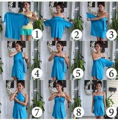T-shirt recycled dress