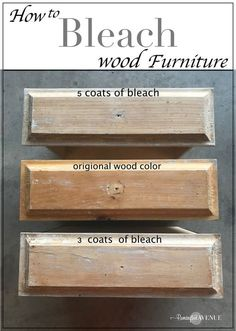 Easy Bleached Wood Furniture easy bleach wood furniture: the beach affect The post Easy Bleached Wood Furniture appeared first on Wood Diy. Refurbished Furniture, Repurposed Furniture, Wooden Furniture, Furniture Projects, Cool Furniture, Diy Projects, Furniture Design, Furniture Websites, Furniture Stores