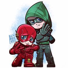 Lord Mesa-2015. This is old news, but hey: Arrow and Flash were confirmed to having a new season xD