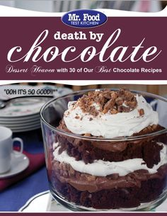 Death by Chocolate FREE eCookbook