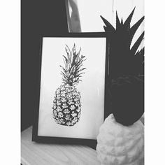 Pineapple picture by Lavinkworld on Etsy