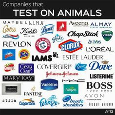 Notice what company isn't on here? YOUNIQUE!!! That's because Younique doesn't test on animals. I'm so proud for all Younique stands for!!!!  http://AngelWingLashes.com