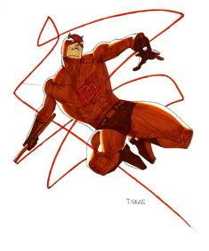Daredevil by Thony Silas Comic Art Comic Book Artists, Comic Book Heroes, Comic Books Art, Comic Art, Marvel Comics, Marvel Art, Marvel Heroes, Marvel Comic Character, Marvel Characters