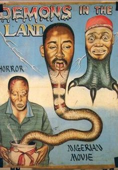 Here's a load of African movie posters from the 1980s and '90s, some of which are rather liberal interpretations of Hollywood blockbusters. ...