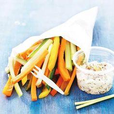 Recept - Groentefriet met gembermosterd - Allerhande