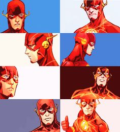 The Many Faces of The Flash