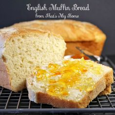 Tastes just like English muffins but in bread form. Easy to make English Muffin Bread.