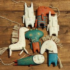 Diy And Crafts, Kids Crafts, Arts And Crafts, Paperclay, Soft Sculpture, Fabric Dolls, Handmade Toys, Handmade Pottery, Clay Art