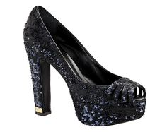 Louis Vuitton Odeon pump in embroidered fabric $1150...I honestly don't know what I like about these...they just hott.