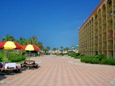 Ramada Plaza Beach Resort beachside patio
