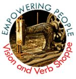 Vision and Verb Shoppe - offering note cards for sale with profits going to KIVA loans.