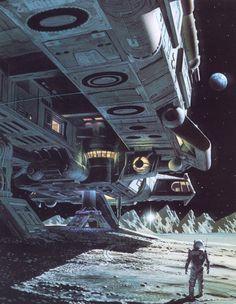 The Sentinel by Arthur C. Clarke. Grafton 1991. Cover artist Chris Moore