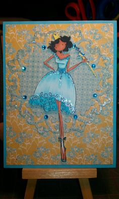 Upton's Nut Farm--Stamping Bella--Faith the Fairy--Blue