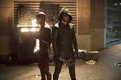 So, No Big Deal, But the Greatest TV Crossover Ever Goes Down Tonight  The Flash vs. Arrow Crossover