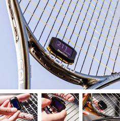 Challenger - Smart Dampener That Take Your Tennis Skill To The Next Level Coolest. Thing. Ever.