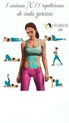 Gym Workout For Beginners, Gym Workout Tips, Pilates Workout, Workout Videos, Exercise, Yoga Fitness, Fitness Tips, Body Fitnes, 5 Minute Yoga