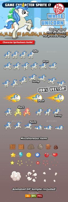 Game Character Sprite 17 — Vector EPS #side scroller #mobile • Available here → https://graphicriver.net/item/game-character-sprite-17/11864141?ref=pxcr