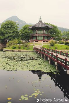 The gardens inside Gyeongbokgung are not to be missed!