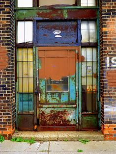 Entrance: 1974 Franklin Street, Aluminum and Architectural Metals Building--Detroit MI