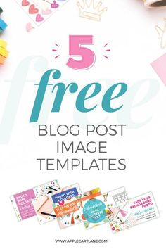 Do you want to design click-worthy blog post graphics for your blog, but have ZERO design skills? Don't worry! I've created this FREE set of 5 professionally designed blog image templates just for you! All you need is Canva and a few of your own images an