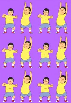 dancing gene (feel the beat from the tambourine… Bobs Burgers Memes, Belcher Family, Funny Memes, Hilarious, Funny Shit, Tina Belcher, Gifs, Bob S, American Dad