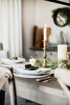 10 beautiful christmas tablescapes to inspire your holiday decorating - French Style Christmas Decorations