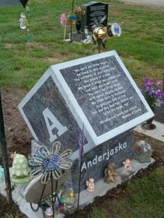 Child's Grave- Anderjaska- unique gravestones