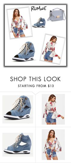 """""""ROMWE # 10"""" by begicdamir ❤ liked on Polyvore featuring WithChic"""