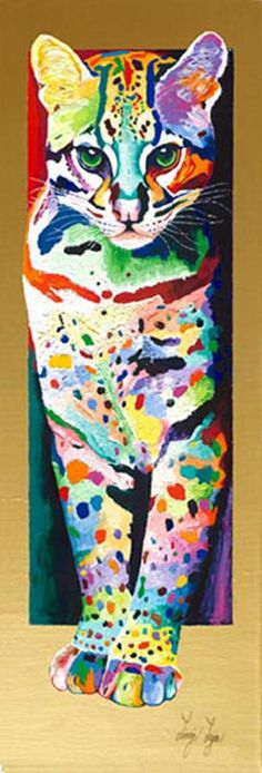 Bright Paintings - Paintings of People - Pet Painting - Giclee Reproductions | LINZI LYNN