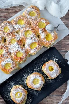 Winter Food, Donuts, Cake Recipes, Pineapple, Sweets, Bread, Fruit, Bakken, Frost Donuts