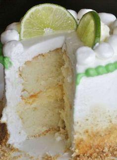 Key Lime Baby Cake - The Hopeless Housewife®