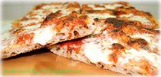 la pizza croccante con lievito fresco