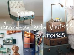 Decor inspiration: Suitcases