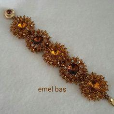 Autumn bracelet by Emel Bas from Turkey