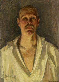 Pekka Halonen, Self portrait (Omakuva) 1906