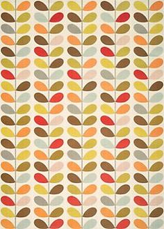 Multi Stem Flower Wrapping Paper. Love this gift wrap from Orla Kiely.