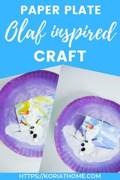 We absolutely love cute and easy craft ideas and this one brings in the absolute adorableness that is Olaf- everyone's favorite snowman! Winter Activities For Kids, Creative Activities For Kids, Fun Crafts For Kids, Creative Kids, Preschool Activities, Easy Crafts, Frozen Crafts, Turtle Birthday, Turtle Party