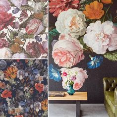 Our Antiquity wallcovering collection has large scale patterns, smaller scale patterns and murals for any space! #jfwallcovering #mural