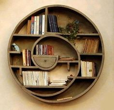 AWESOME little bookshelf!  That little drawer really makes it...