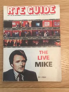 RTE Guide THE LIVE MIKE December 14, 1979 Magazines, December, Live, Books, Christmas, Journals, Xmas, Libros, Book