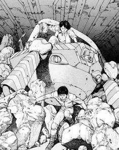 Comic Art, Comic Books, Katsuhiro Otomo, Akira, Manga, Comics, Drawings, Fictional Characters, News