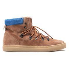 Men's Beige Suede Trek Boot Sneaker