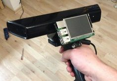 Raspberry pi and kinect = 3d scanner.